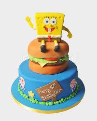 sponge bob cakes sponge bob cake spg3748 panari cakes