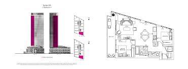 One Bloor Floor Plans Via Bloor Condos Tridel Rosedale Toronto