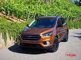 Ford Escape Green - vehicles on vacation summer road trip with the 2017 ford escape