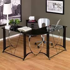 bureau angle verre noir un bureau informatique d angle quel bureau choisir pour votre