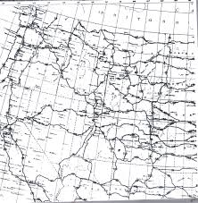 Usa Map Black And White by Maps Us Map Road