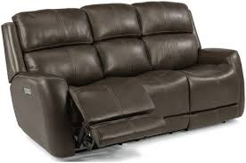 Power Recliners Sofa Flexsteel Latitudes Casual Power Reclining Sofa With Power