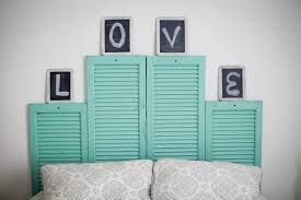 unique and absolutely creative shutter headboard ideas bedroomi net