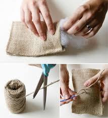 small burlap bags best 25 diy burlap bags ideas on