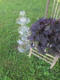 repurposed glassware u003dgarden topiaries easy project hometalk