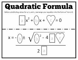 math u003d love quadratic formula templates algebra 2 pinterest
