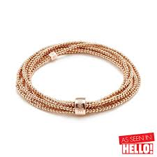 rose gold crystal bangle bracelet images Beautiful rose gold bracelets annie haak jpg