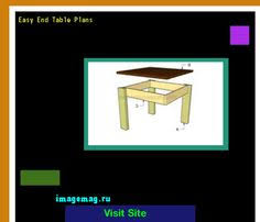 build your own end table plans the best image search imagemag