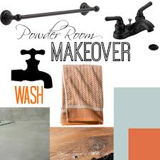 The Powder Room Makeover Plans For The Powder Room Designer Trapped In A