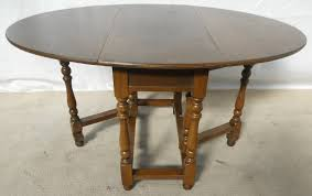 Oval Drop Leaf Dining Table Old Charm Oak Wood Dropleaf Gateleg Dining Table Sold