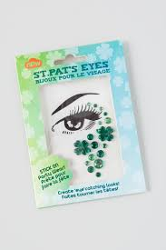 halloween face decals green st patrick u0027s day face jewelry sticker francesca u0027s