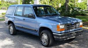 Ford Explorer Blue - 1991 ford explorer information and photos zombiedrive