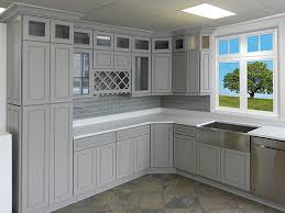 Shaker Kitchen Cabinet by Shaker Gray Kitchen Cabinet Cream City Cabinets