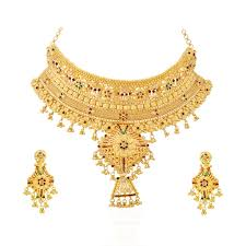 new necklace set images Sober gold necklace set sakhigold jpg