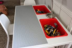 Legos Table A Little Of This A Little Of That Diy Lego Table
