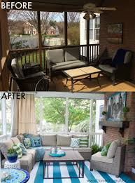 Outdoor Curtains Lowes Designs Lowe U0027s Screen Porch And Deck Makeover Reveal Deck Makeover