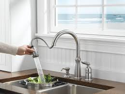 Victorian Kitchen Faucets Faucet Com 955 Ss Dst In Brilliance Stainless By Delta