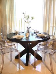 dining room classy round table and chairs large round dining