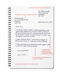 gift letter gift letter sample best business template intended