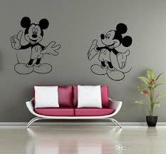 mickey mouse minnie mouse miremovable decal home decor vinyl decal