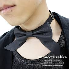 black tie necklace images Ankorock rakuten global market an meets zakka choker men 39 s jpg