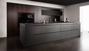 contemporary kitchen wooden stone island nero assoluto