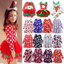 christmas dresses for girls ebay