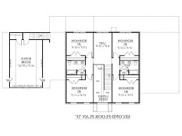 House Plan With Two Master Suites Home Design 89 Extraordinary 3 Bedroom Floor Planss