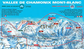 The Alps On World Map by Chamonix Piste Map One Valley 5 Ski Areas And A Lot Of Off