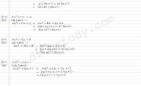 class 9 class x cbse r s aggarwal solutions polynomials ex 2 g