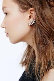 ear climber earrings best ear climbing earrings photos 2017 blue maize