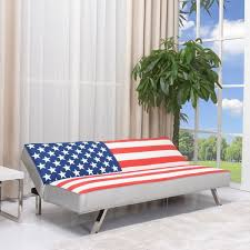 American Flag Bedding American Flag Futon Sofa Bed Free Shipping Today Overstock Com