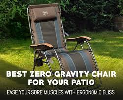 Bliss Zero Gravity Lounge Chair Best Zero Gravity Chair Reviews And Comparison Outdoormancave Com