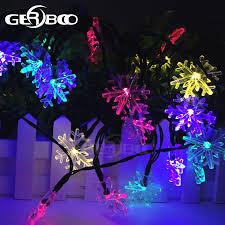 Outdoor Solar String Lights Patio Outdoor Solar String Lights Patio 30 Led Garden Snowflake Light