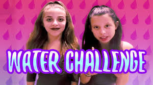 Challenge Baby Ariel Water Challenge Wtih Babyariel Theylovearii