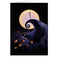 nightmare before cards greeting photo cards zazzle