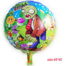 Plants Vs Zombies Decorations Zombie Party Supplies Ebay