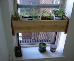 Window Box For Herbs Herb Planter Box For The Kitchen Easy Install 4 Steps