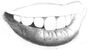 drawing realistic mouth and teeth page 2 of 2 onlypencil