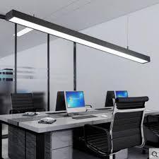 led bureau led bureau lustre moderne simple bureau longue bande en aluminium