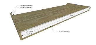 Kreg Jig Table Top Free Diy Furniture Plans How To Build A Vintage Inspired French