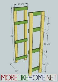 Wood Storage Shelves Plans by More Like Home Day 12 Homestead Storage Shelves