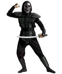 Boy Costumes Skull Ninja Master Boy Costume Kids Ninja Costume
