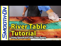 live edge river table epoxy how to make a river table using clear epoxy casting resin and