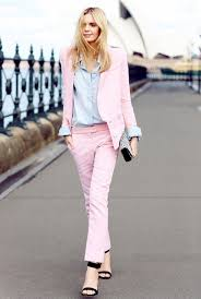 What To Wear With Light Jeans 22 Gentle With Pale Pink Jackets Styleoholic