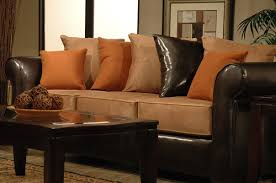 luxury looking faux leather sofas to give your room stylish look