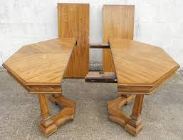extending pedestal dining table amazing the 25 best octagon table ideas on pinterest diy 70s