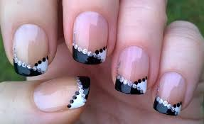 easy french nail designs image collections nail art designs