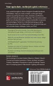 buy interior designer u0027s portable handbook first step rules of