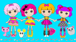 lalaloopsy coloring for kids lalaloopsy baby coloring youtube